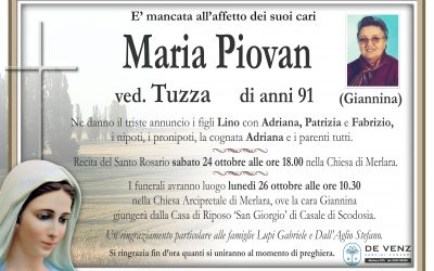 Maria Piovan